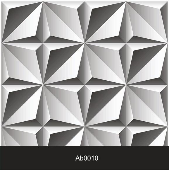3d abstrato elo7 for Mosaico adesivo 3d