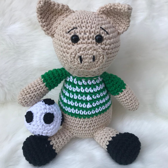 Amigurumi Pig Tutorial Crochet Toy Bear and Horse #амигуруми ... | 580x580