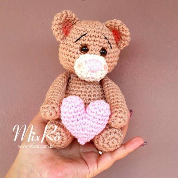 Amigurumi: Ursinho de Crochê com receita (Circulo S/A) - Como Fazer | 580x580