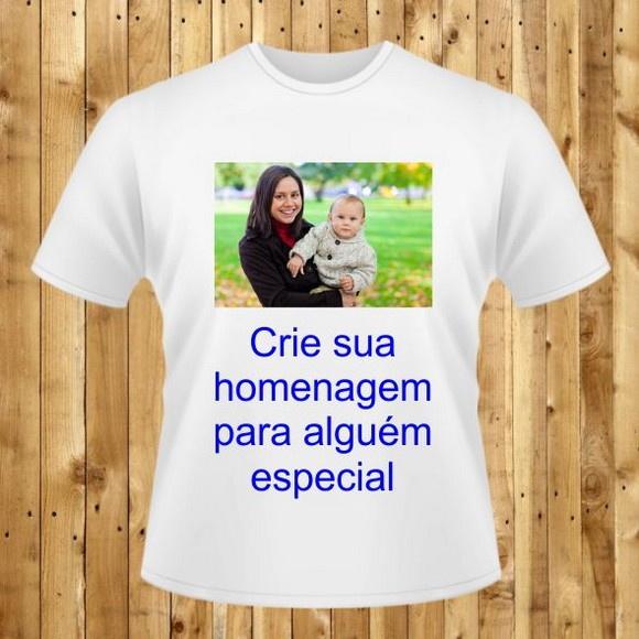 Camisa De Homenagem Crie A Sua Aqui No Elo7 White Sea 9403a9