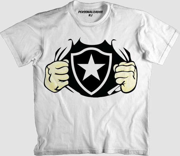 4476c89505 Camisa Infantil Botafogo