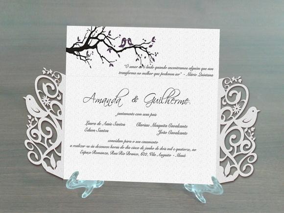 molde silhouette convite de casamento no elo7 artes silhouette