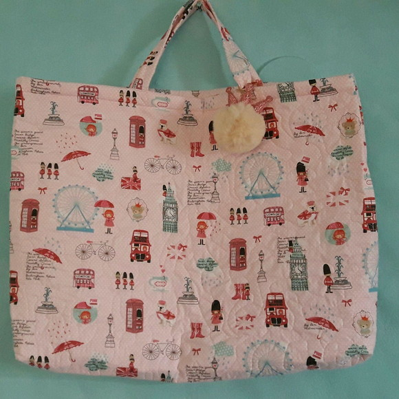 Ecobag Quilt estampa Londres