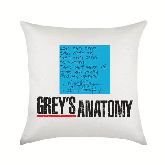Almofada Grey's Anatomy Post It