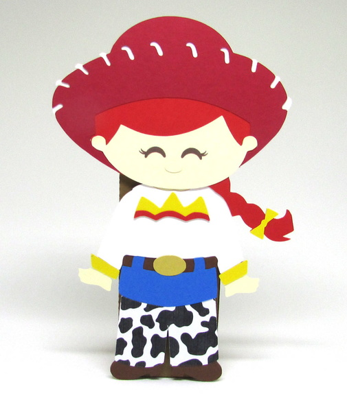 Display Toy Story - Jessie - Scrap