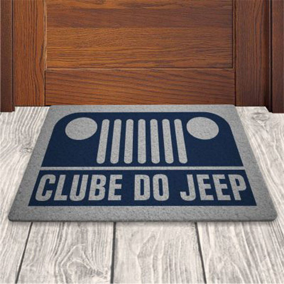 Tapete Capacho Divertido Clube do Jeep 60x40