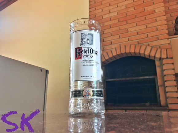 Super copo de garrafa ketel one 775ml sk elo7 for Super copo