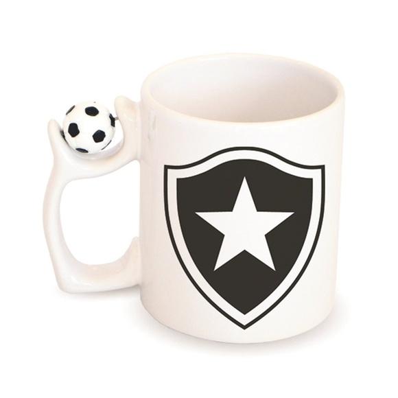 a0fbe0885c Caneca Botafogo Bola de Futebol