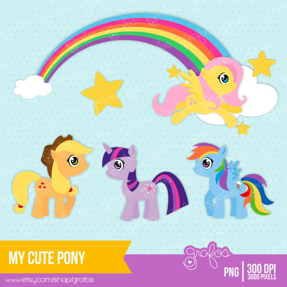 Kit Digital My Little Pony 68