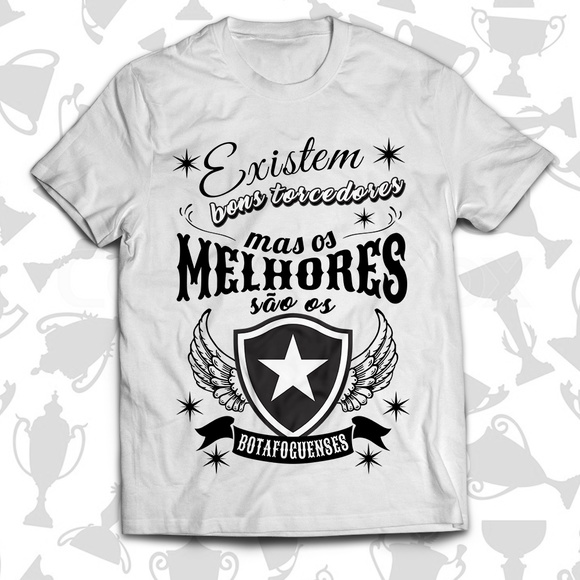 Camiseta Torcedor do Botafogo