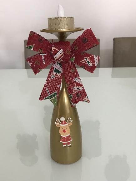 Enfeite De Taça ~ Enfeite de natal com taça de acrílico Lojinha da Gabi Elo7
