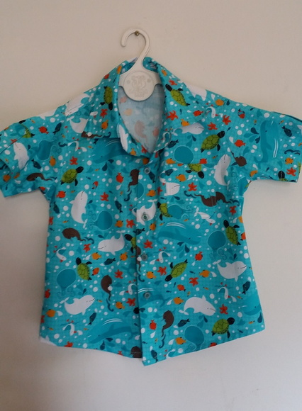 Camisa Infantil Fundo do Mar