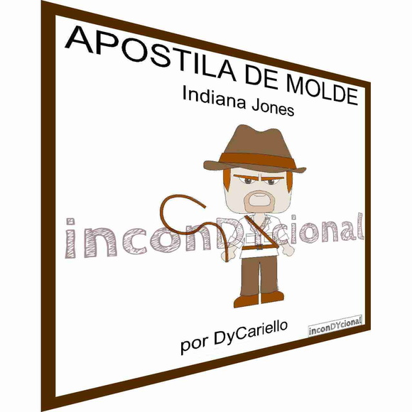 Apostila Digital de Molde Indiana Jones