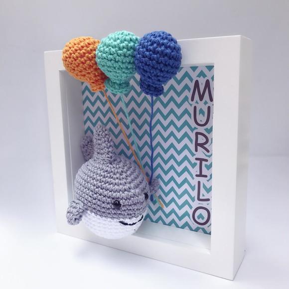 Baby Shark de Croche | Elo7 | 580x580