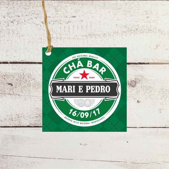 TAG de chá bar tag 5