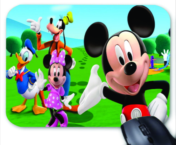 363b13872 Mouse Pad Personalizado Mickey Mouse