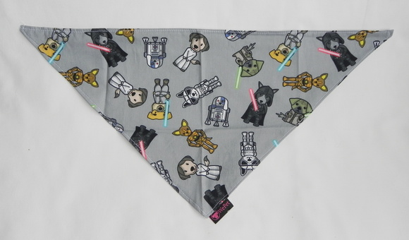 Bandana Pet M Star Dogs