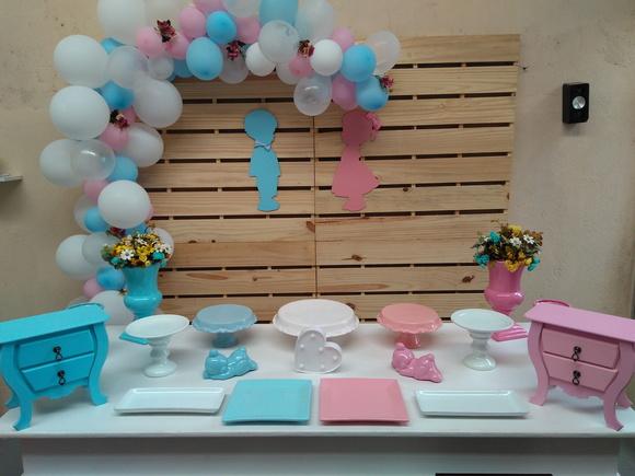 Decoraç u00e3o Chá de Bebe Revelaç u00e3o no Elo7 lily festas decoraç u00e3o infantil (A58E52)