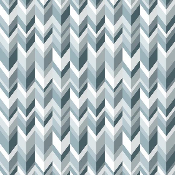 Conforama Aparador Nova ~ Adesivo Papel de Parede Geométrico Chevron Tons Azul Cinza Cola Mais Adesivos Elo7