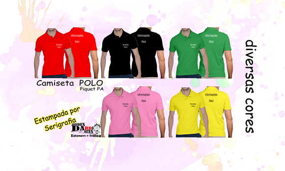 Camiseta Polo Piquet 06 un.
