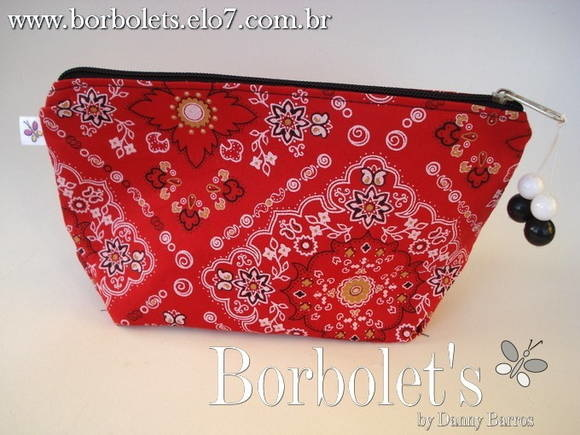 Puffbag Red bandana