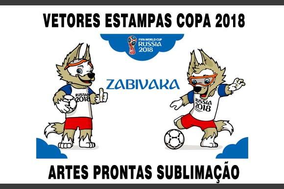 Vetores Estampas Artes Prontas Copa Mundo 2018 no Elo7  32316d429bd65