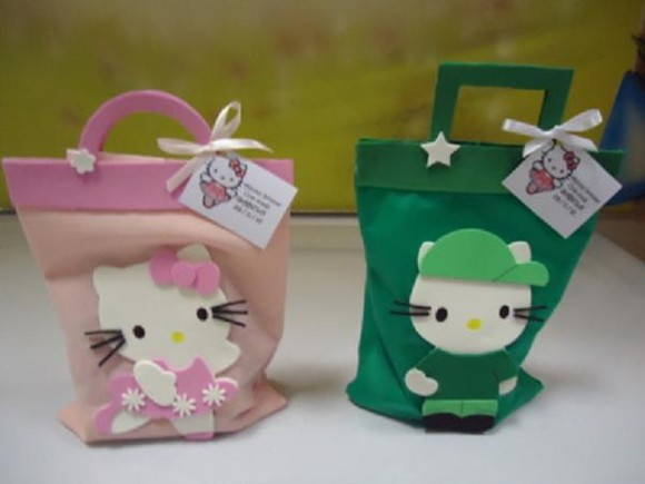SACOLA SURPRESA HELLO KITTY