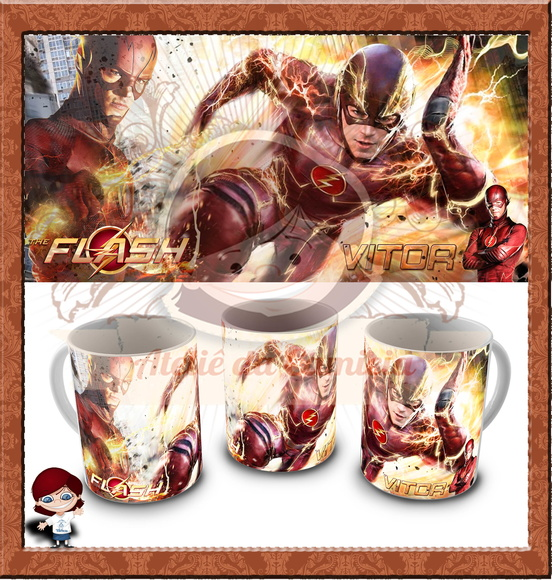 Caneca The Flash - Seriado 01