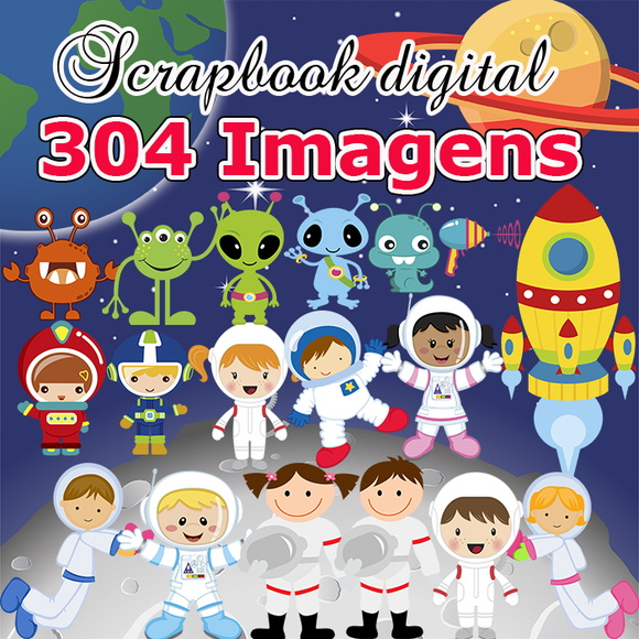Scrapbook Digital Astronauta - O mais completo do site