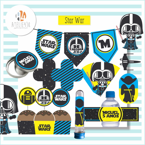 Kit Festa Infantil - Star Wars