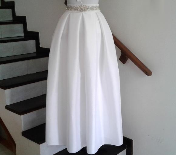 aa8becec2a Saia Longa Indiana Luxo Fashion