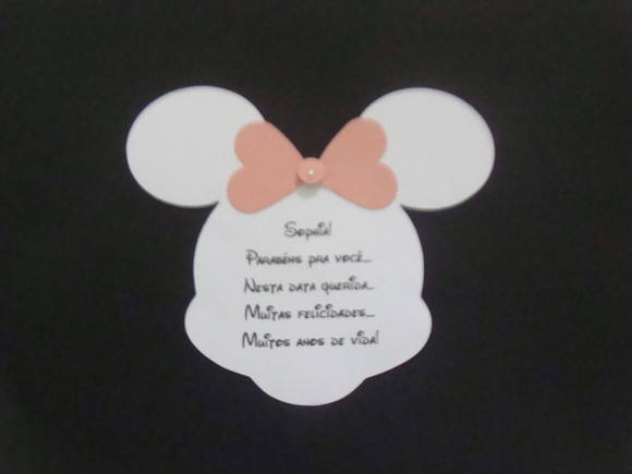 TAG DA MINNIE E MICKEY FESTA DA DISNEY