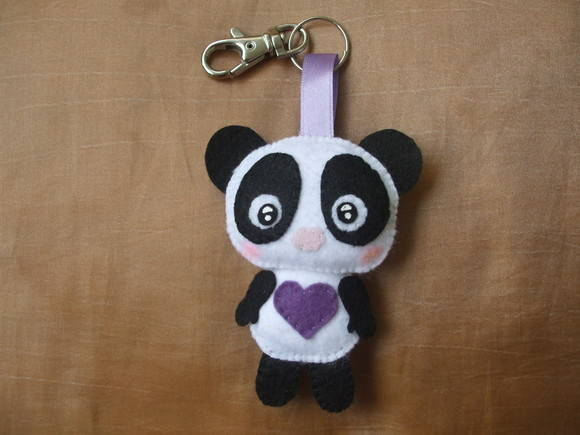 Chaveiro do Panda