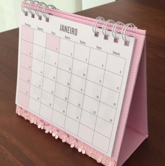 Calend rio mesa 2019 no elo7 by steph b8aa0e - Calendario de mesa ...