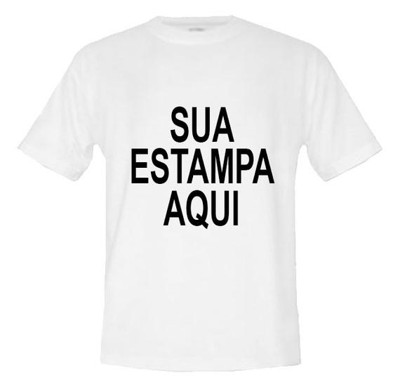 a52c0fa669 Camisa Camiseta Personalizada com Sua Foto Arte Imagem