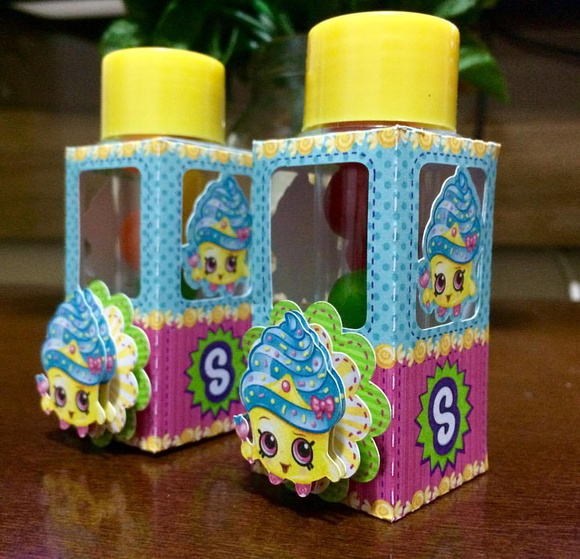 Caixa mini tubete Shopkins