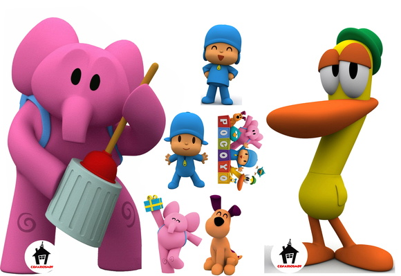 Kit Display para Festa Infantil Pocoyo 3