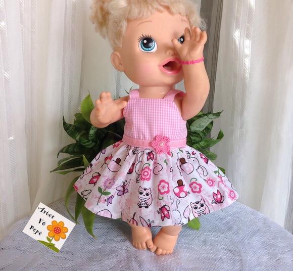 df2a74ebe Vestido Boneca C Calcinha