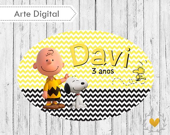 Placa Elipse Snoopy Digital  57df7f954d3eb