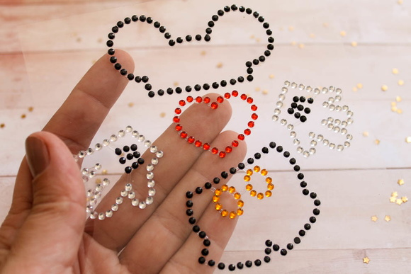 Bling Mickey (ST039)