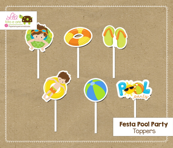 Topper Festa Piscina (Pool Party)