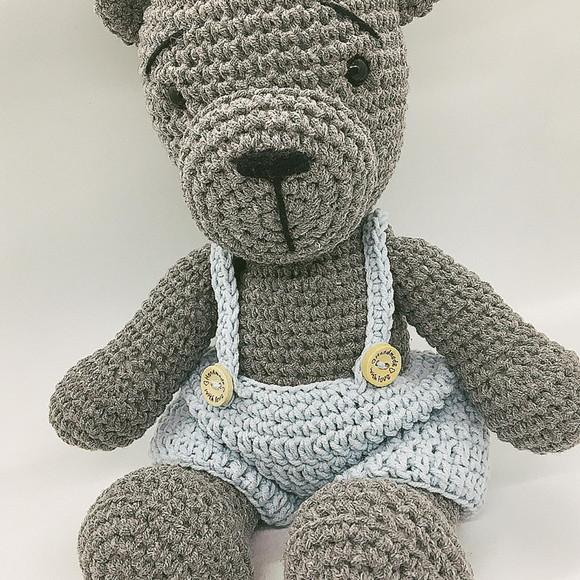 Polar bear amigurumi crochet tutorial ( head ) - YouTube | 580x580