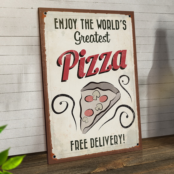 Placas Decorativas Em Mdf 20x30 Pizza