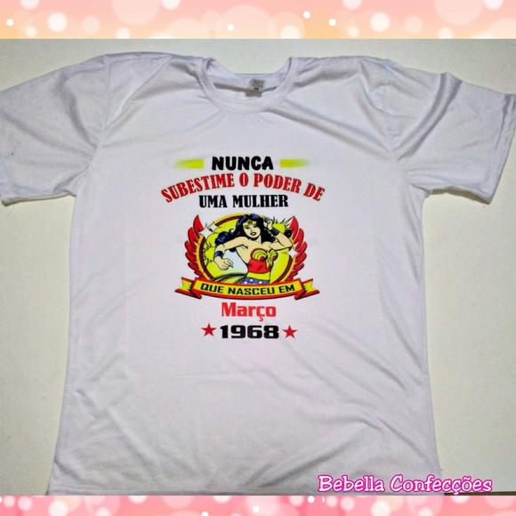 5471be4514 Camiseta Personalizada Mulheres