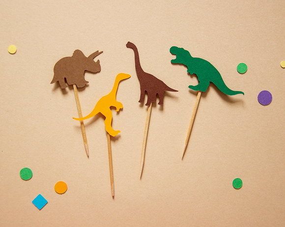 Mini Toppers Dinossauros