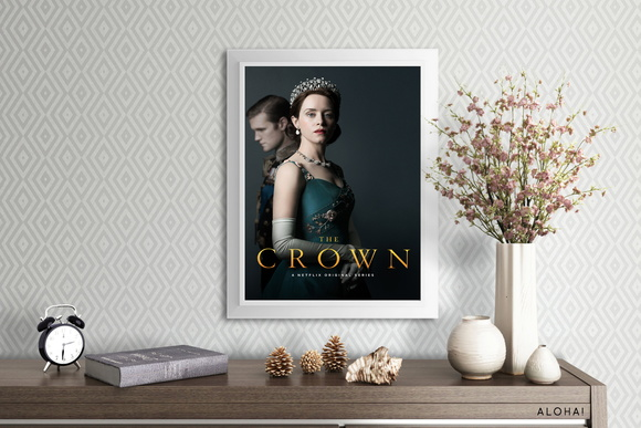 Poster: The Crown | A4
