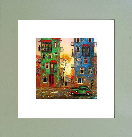 QUADRO DECOR COLOR - ARTE MODERNA 02