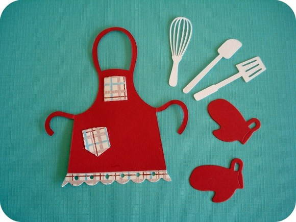 Kit Red Apron (K54)