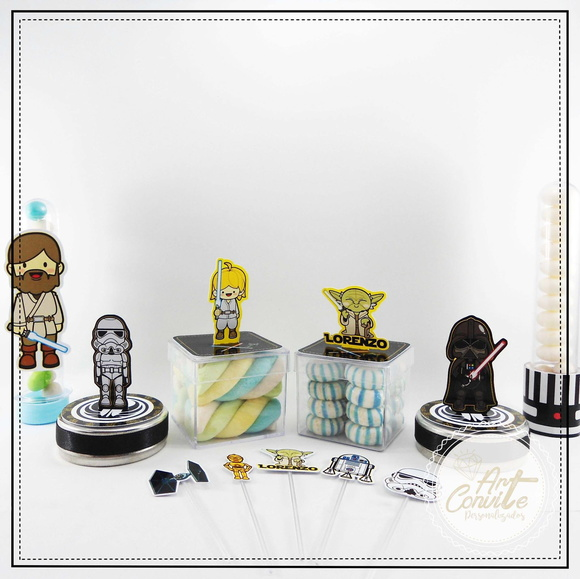 Kit Digital Arquivo De Corte Silhouette Star Wars 3d +Brinde