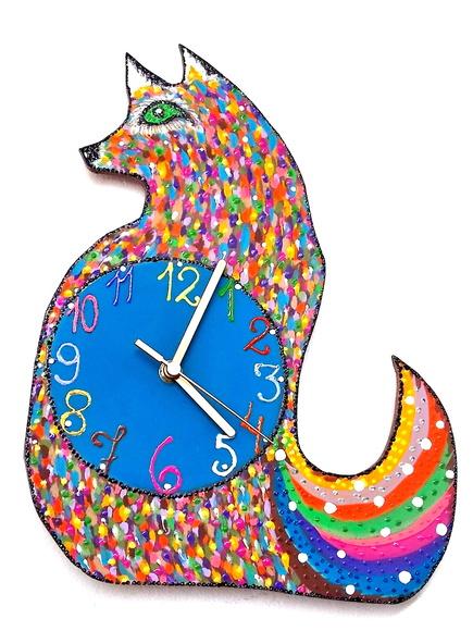 d1b71de5944 Relógio Raposinha Primavera no Elo7